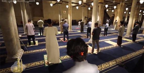 صلاة الفجر من الجامع الأزهر