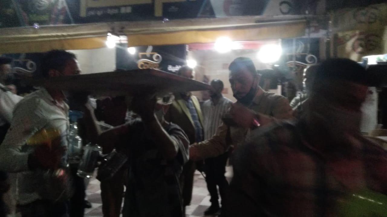 غلق أول مقهى مخالف بمدينة كفر الشيخ لعدم حظره الشيشة (3)