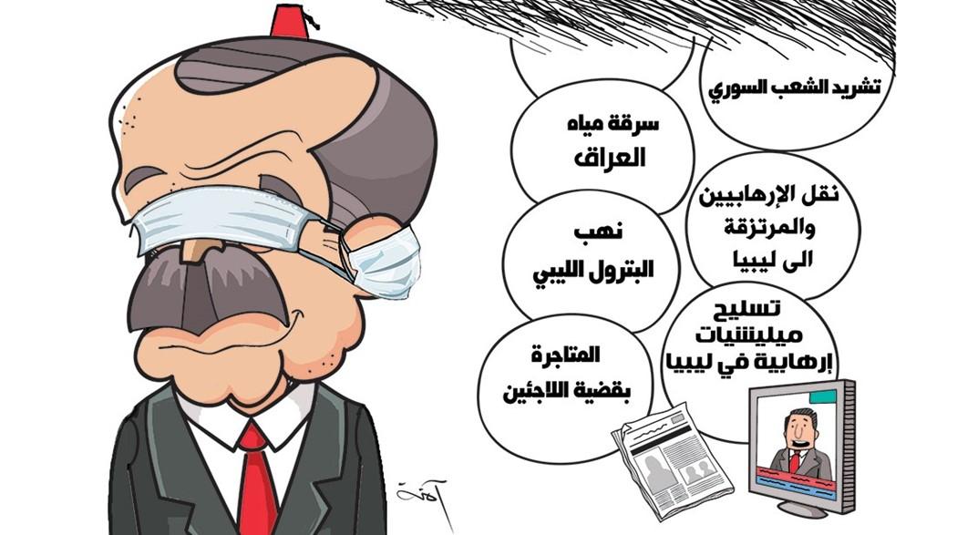 كاريكاتير صحيفة الاتحاد الامارتية