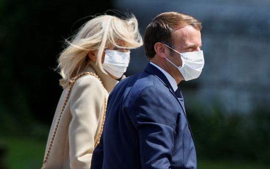الرئيس الفرنسى وزوجته