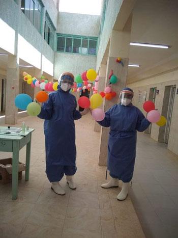 نسمة أجلت فرحها لخدمة مرضى كورونا فأصيبت الفيروس (3)