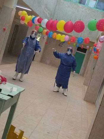 نسمة أجلت فرحها لخدمة مرضى كورونا فأصيبت الفيروس (1)