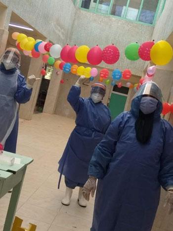 نسمة أجلت فرحها لخدمة مرضى كورونا فأصيبت الفيروس (2)