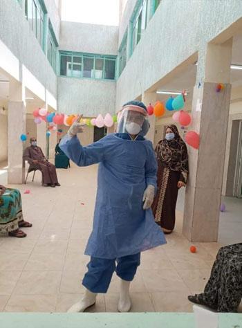نسمة أجلت فرحها لخدمة مرضى كورونا فأصيبت الفيروس (8)