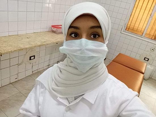 نسمة أجلت فرحها لخدمة مرضى كورونا فأصيبت الفيروس (6)