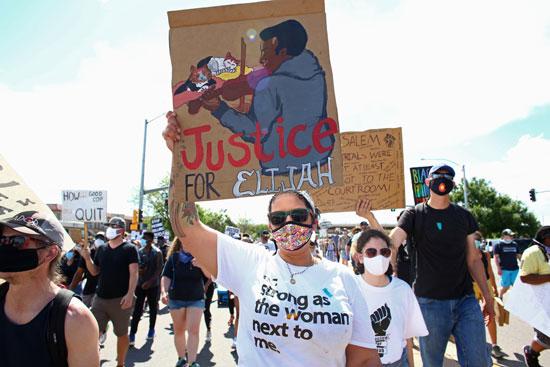 مسيرات ضد عنصرية الشرطة الأمريكية