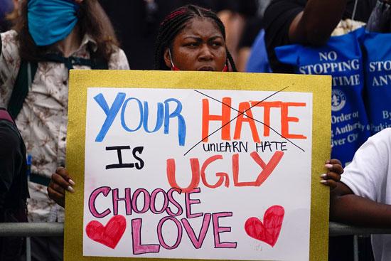احتجاجات ضد العنصرية