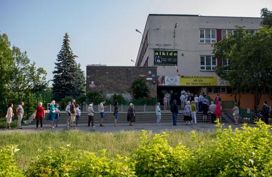 طابو الناخبين فى انتخابات الرئاسة البولندية