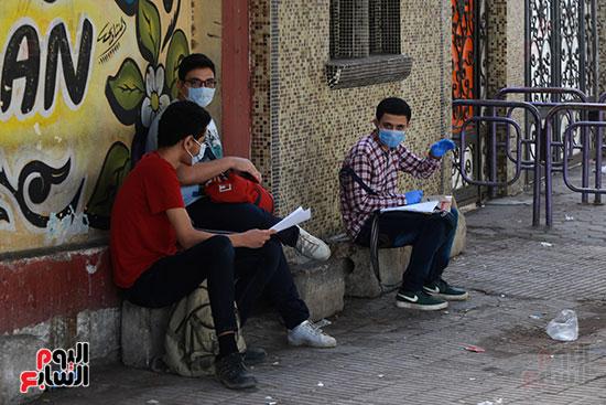 المراجعه قبل الامتحان