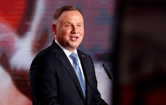 أندريه دودا رئيس بولندا