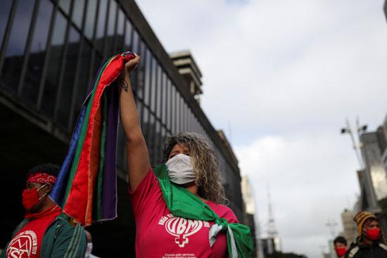 جانب-من-المظاهرات-فى-البرازيل