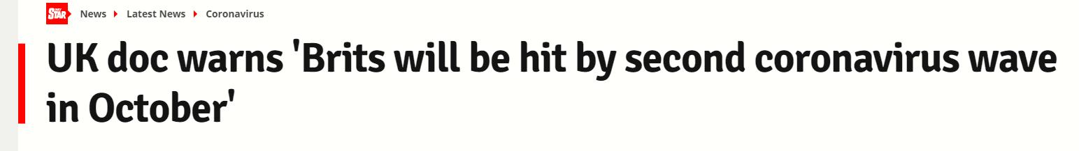 وثيقة بريطانية تحذر من موجة ثانية من فيروس كورونا