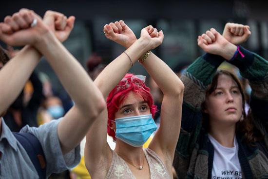 متظاهرات