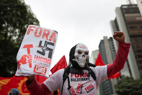 فاعليات-مناهضة-للرئيس-البرازيلى