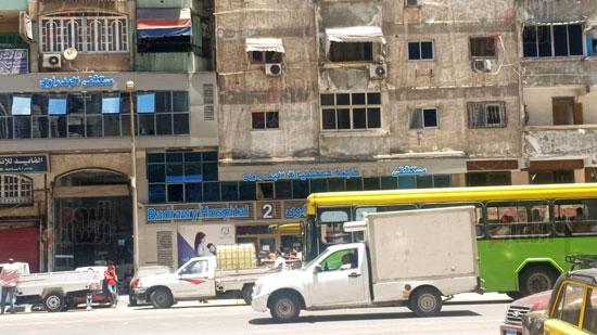 حريق-مستشفى-خاص-بالاسكندريه-(1)