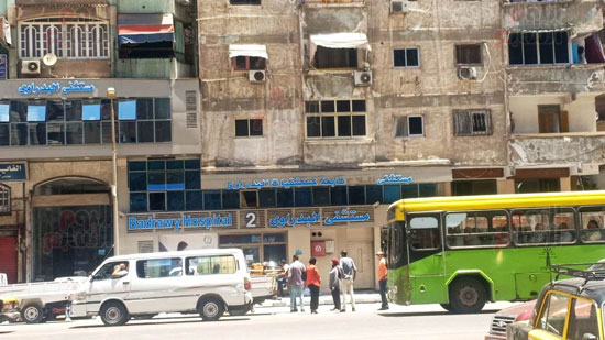 حريق-مستشفى-خاص-بالاسكندريه-(10)
