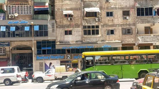 حريق-مستشفى-خاص-بالاسكندريه-(13)