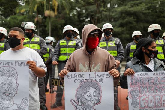 حياة-السود-مهمة-خلال-المظاهرات-بالبرازيل