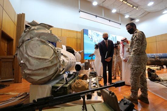 أسلحة إيرانية استخدمها الحوثيون فى الهجوم على الممكلة