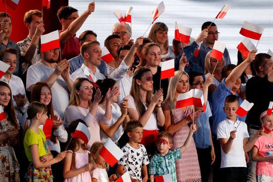 أنصار الرئيس البولندى