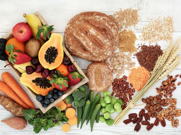 الاطعمة الغنية بالالياف