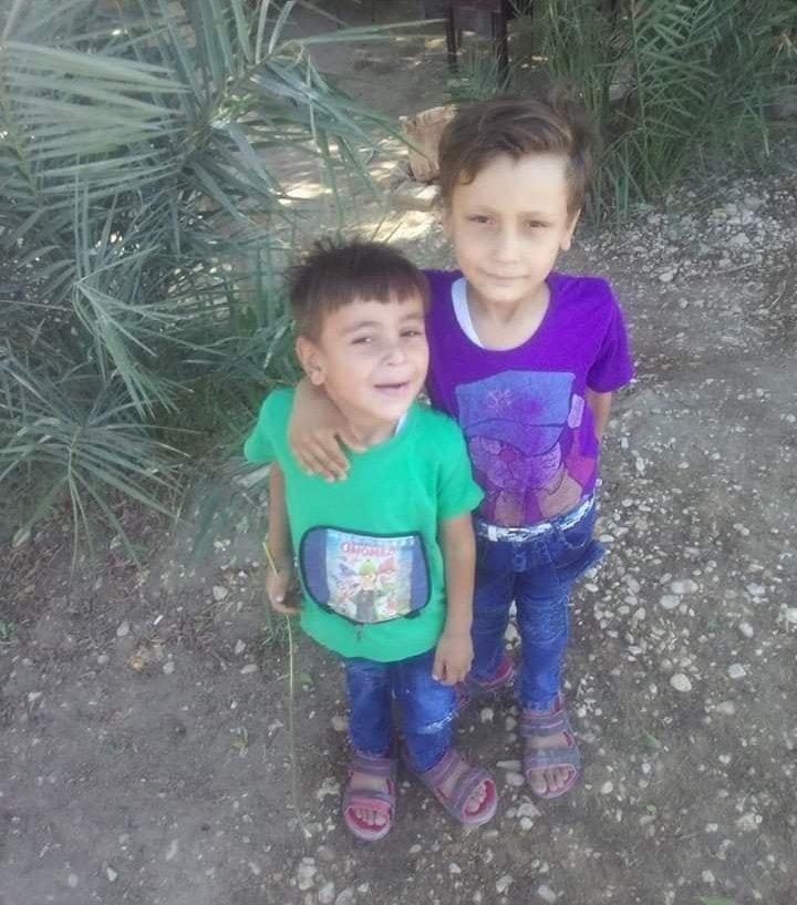 طفلين من الثلاثة الغارقين بترعة أرمنت