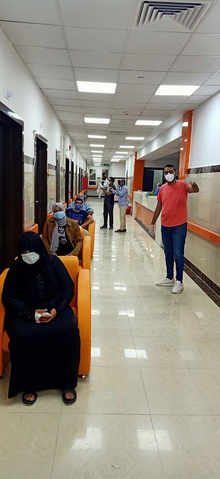 مستشفى العديسات للحجر الصحى تعلن خروج 4 حالات