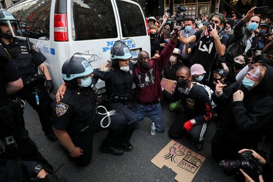 الاحتجاجات فى نيويورك