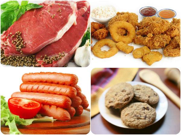الاطعمة واللحوم المصنعة