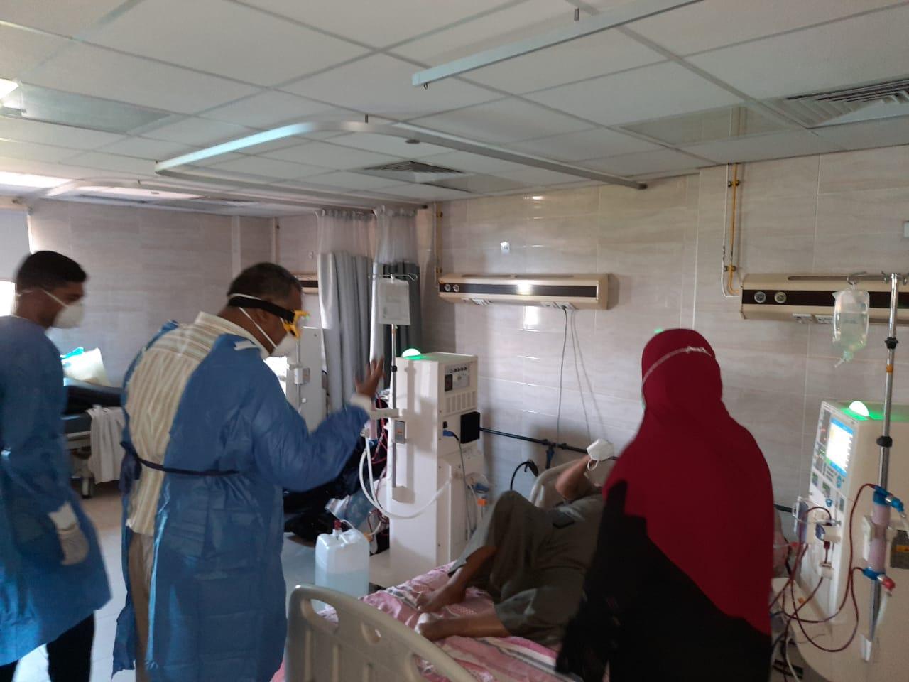 مستشفى الأقصر العام للعزل الصحى (13)