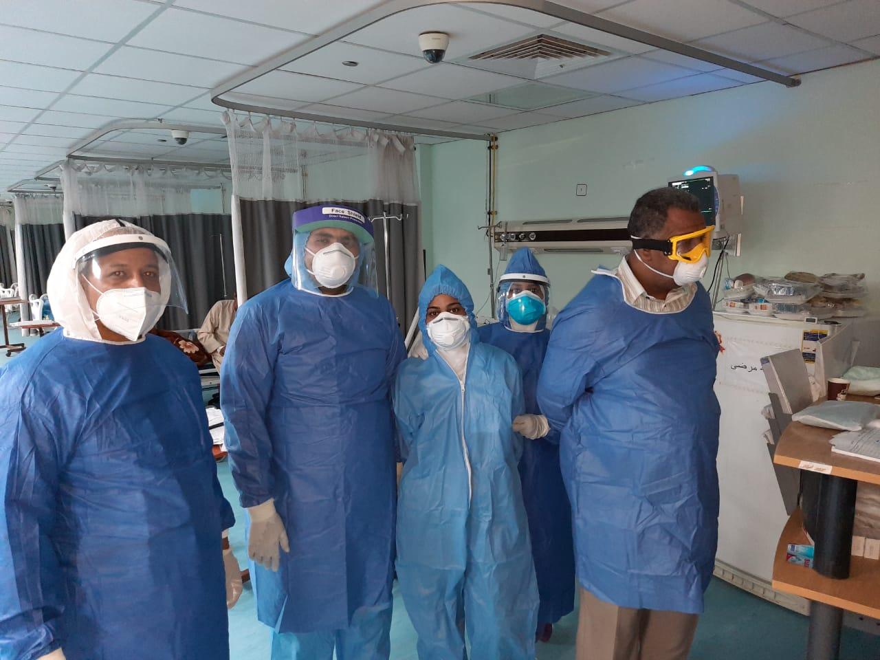 مستشفى الأقصر العام للعزل الصحى (12)