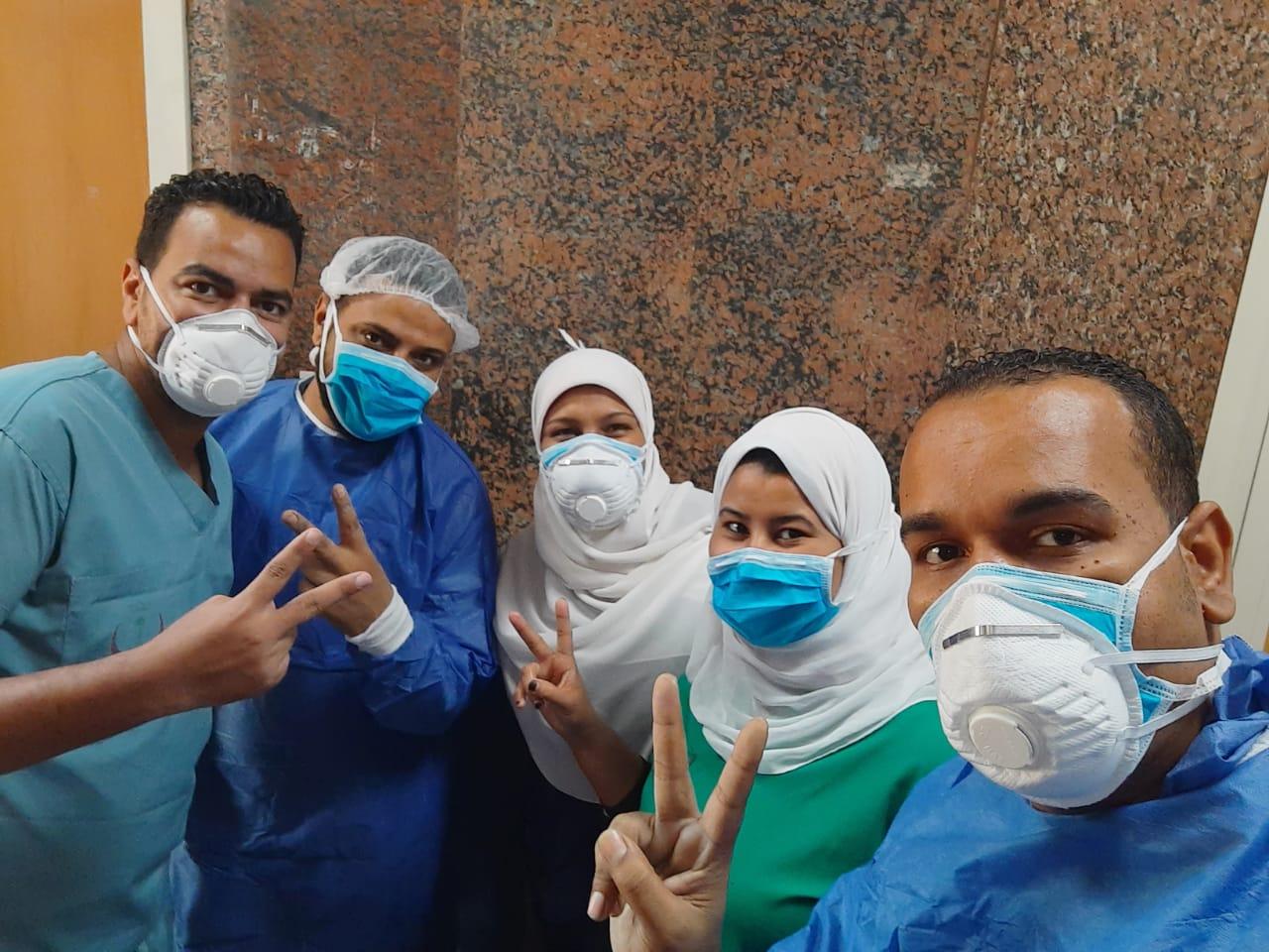 مستشفى الأقصر العام للعزل الصحى (14)
