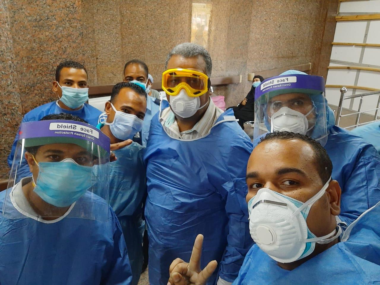 مستشفى الأقصر العام للعزل الصحى (1)