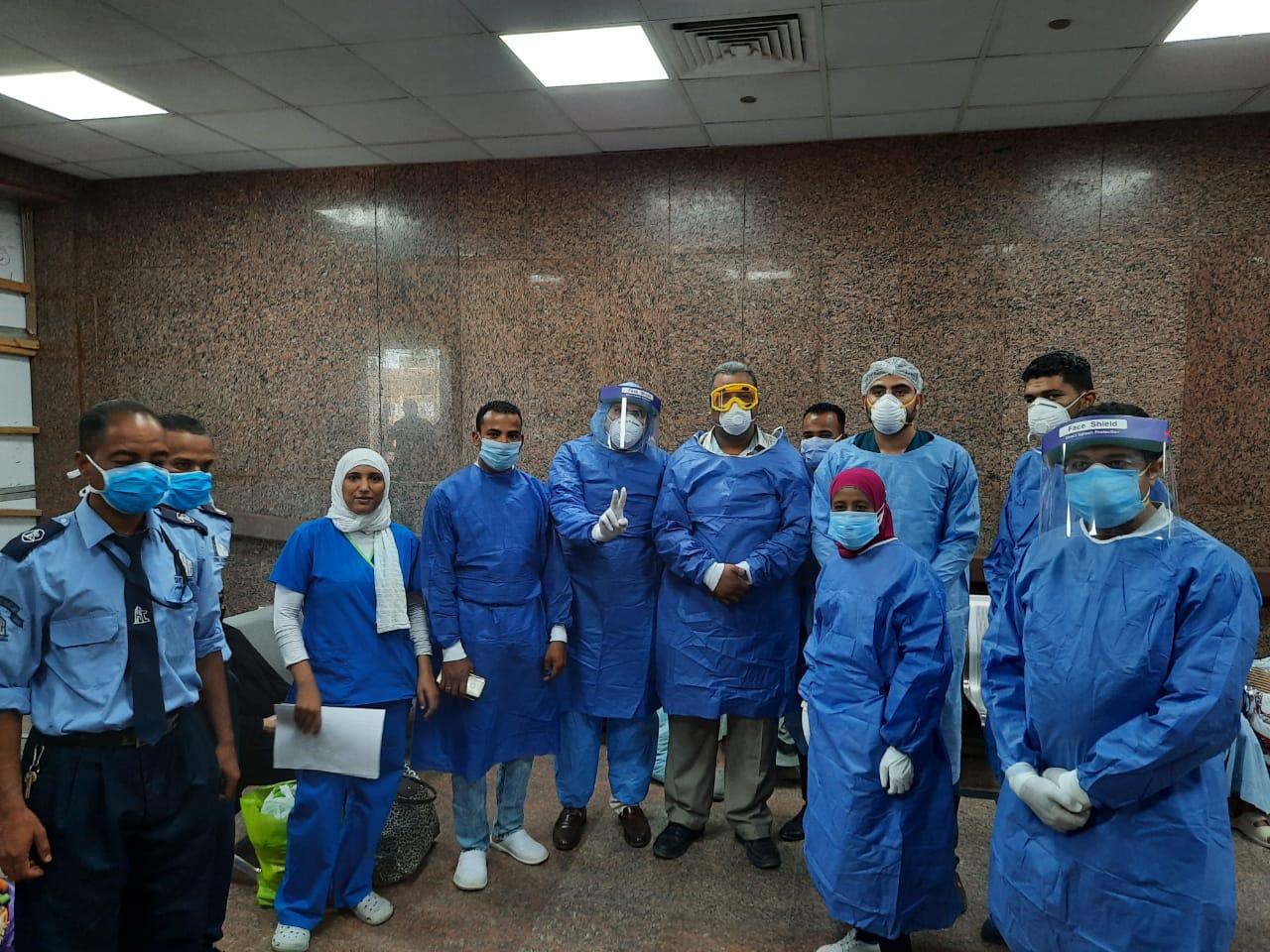 مستشفى الأقصر العام للعزل الصحى (3)
