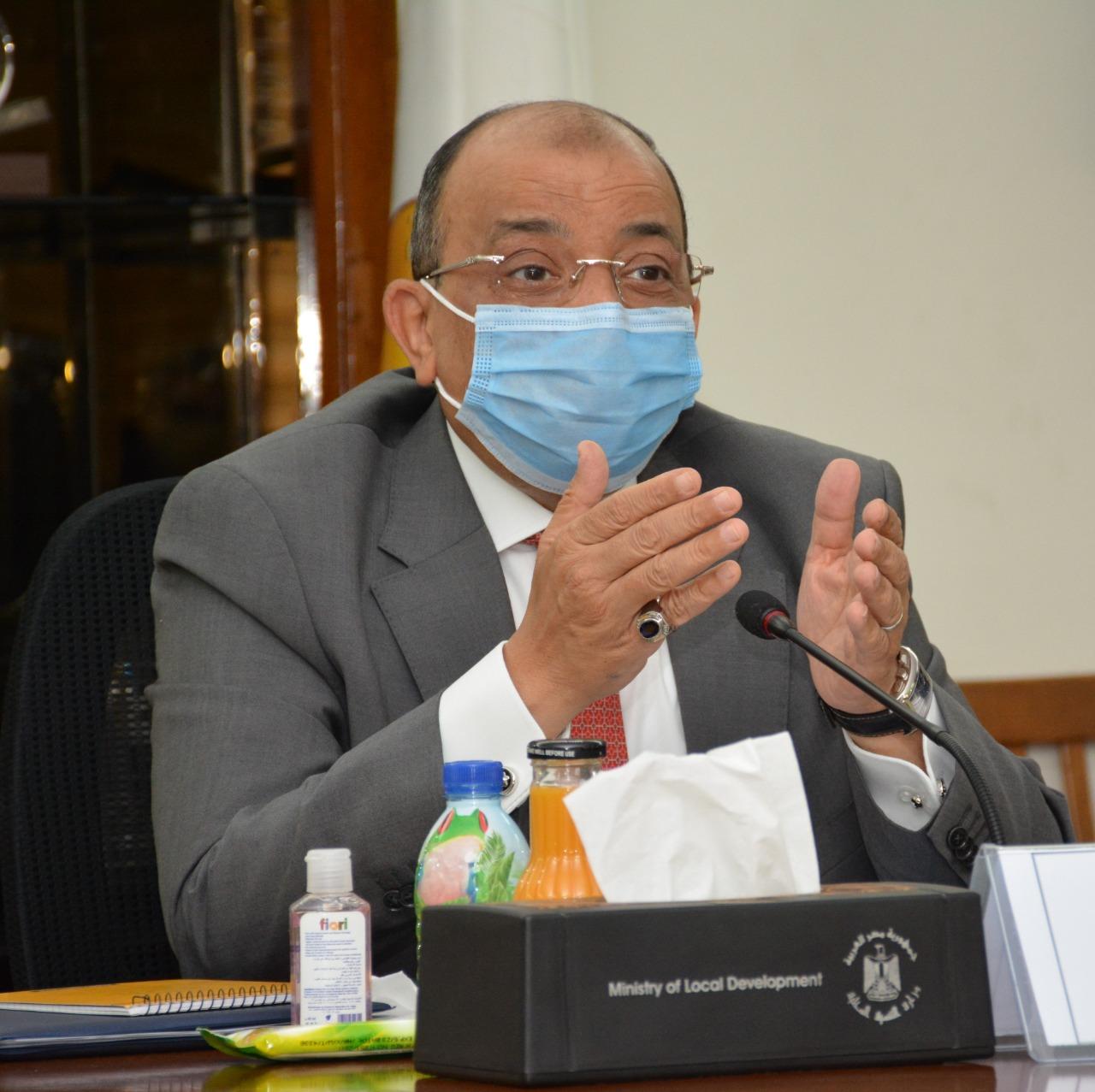 جانب من لقاء وزيرة الصحة ووزير التنمية المحلية (3)