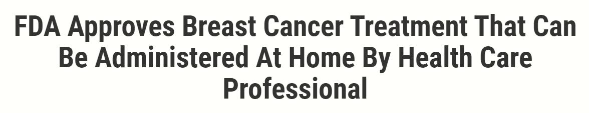 fda ودواء سرطان الثدى