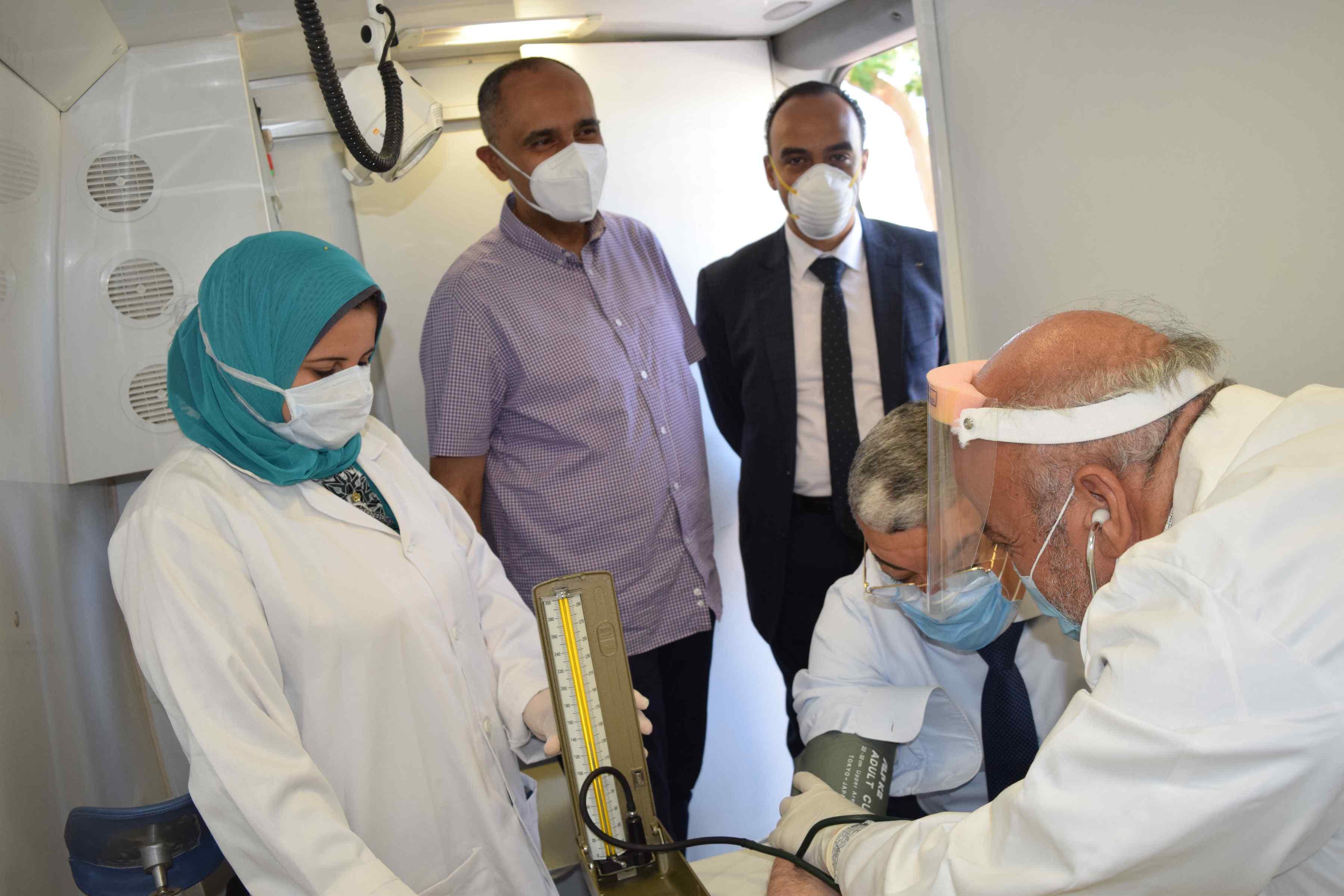 إطلاق المبادرة الرئاسية 100 مليون صحة (1)