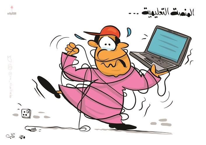 كاريكاتير الأنبا