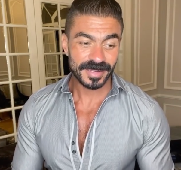 خالد سليم فى فيديو تيك توك