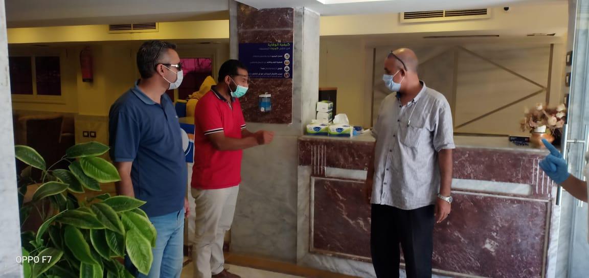 لجنة متابعة استعدادات الفنادق السياحية (3)