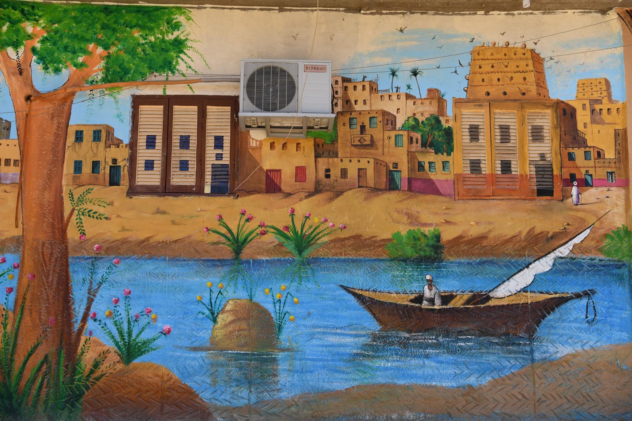 الأعمال الفنية لصاحب مبادرة الفن يحارب كورونا (5)