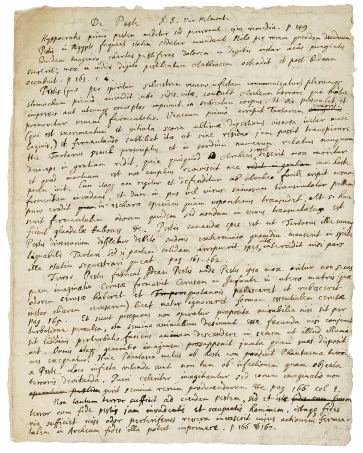 وصايا اسحاق نيوتن للوقاية من الطاعون