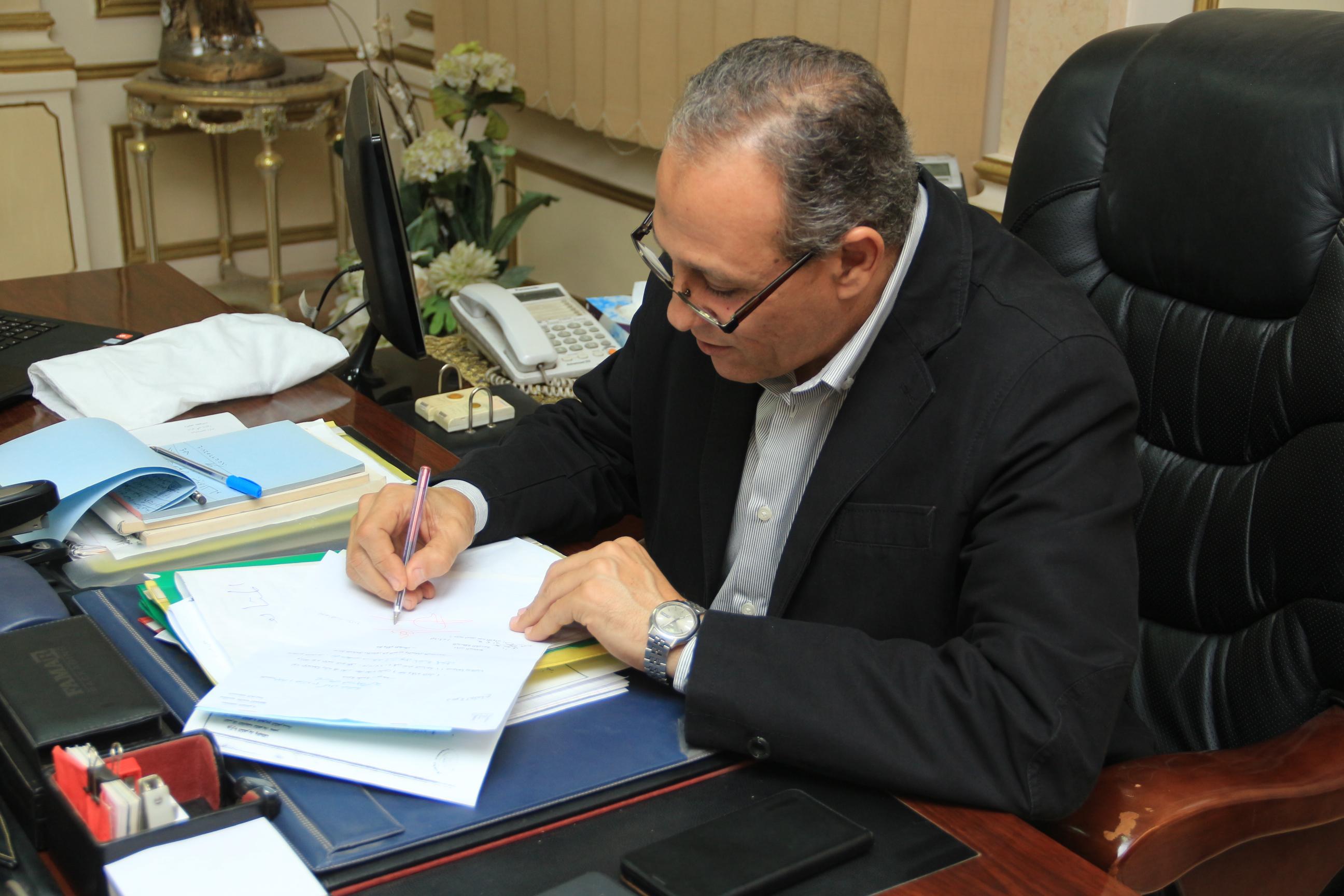 اللواء هشام خشبة السكرتير العام المساعد الجديد بالقليوبية 2