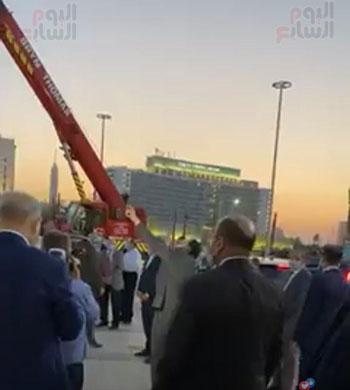 أعمال التطوير بميدان التحرير (1)