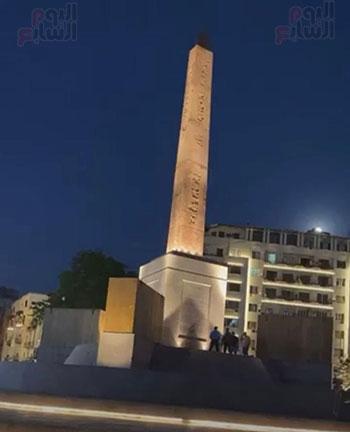 أعمال التطوير بميدان التحرير (3)