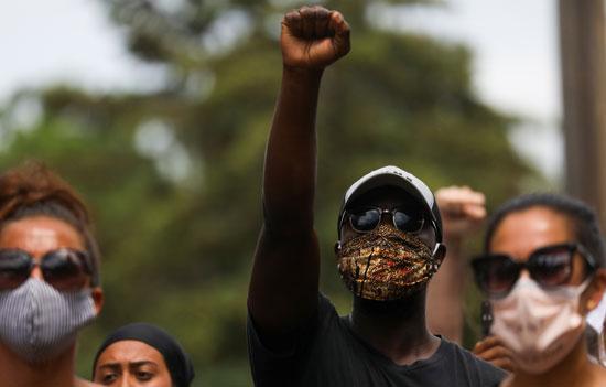 المظاهرات هيمنت على المشهد الأمريكى منذ مقتل فلويد