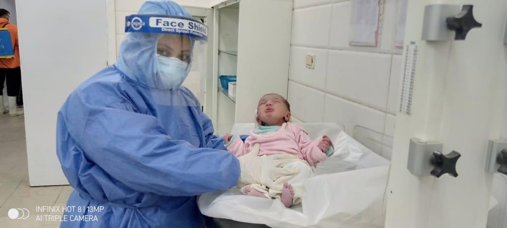 حالة ولادة ثانية لمريضة بكورونا (1)