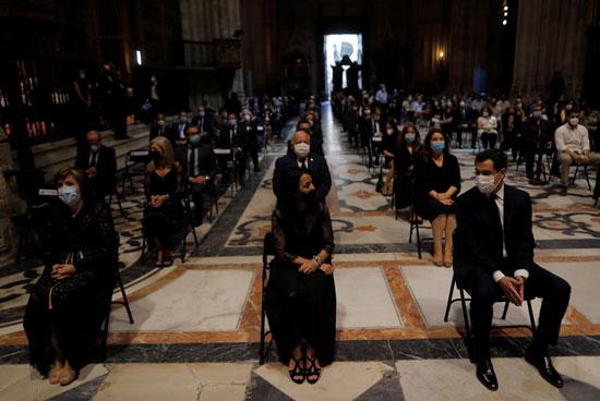 عدد من المسئولين يشاركون فى القداس الجنائزى العام فى إسبانيا