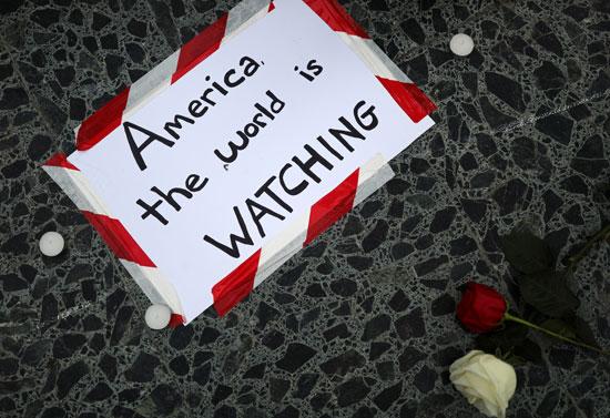 المظاهرات الأمريكية انتقلت إلى دول أخرى