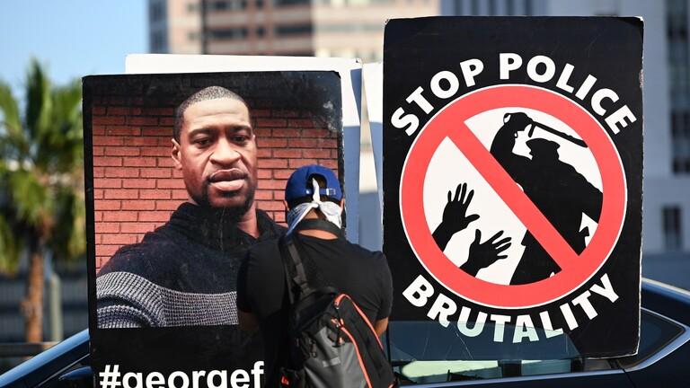 جورج فلويد مفجر المظاهرات الامريكية